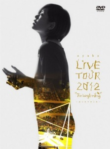 "Cover del dvd 'LIVE TOUR 2012 ""The beginning""〜Hajimari no Toki〜 (DVD+CD)' di ayaka"