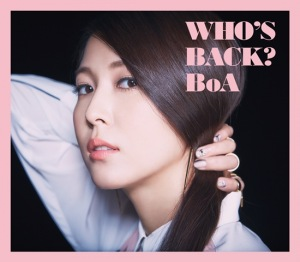 Cover del album 'WHO'S BACK? (CD+DVD)' di BoA