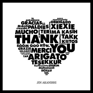 Cover del album 'THANK YOU (CD)' di Jin Akanishi