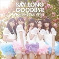 Say long goodbye / Himawari to Hoshikuzu (ヒマワリと星屑) -English Ver.- (CD+DVD B) Cover